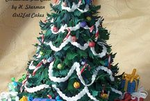 cake_christmas tree