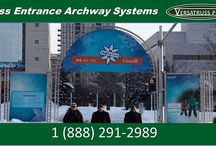 Aluminum Truss Start / Finish Lines and Entranceways / Get the perfect start or finish line for your next race / marathon for you next event. Create a visually attractive archway and more. Contact VersaTruss Plus Today! http://www.versatrussplus.com or call 1 (888) 291-2989