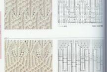 Vzory pletenie háčkovanie