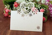 bryllyp - invitasjon/bordkort