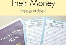 Budgeting worksheets