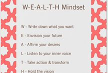 Money Mindset Tips / Tips and affirmations for transforming your mindset into a success and profit making mindset