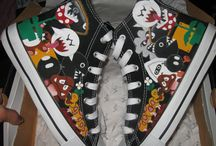 My Art / My hand painted sneakers :) Enjoy and follow me on Etsy :)