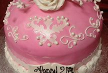 Pretty in Pink Cakes