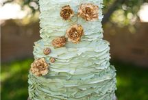 Gold and Mint / 2013/2014 Wedding Colour Inspriration