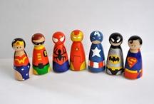 Topic - superheroes / by Laura Jayne