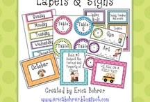 Classroom Labels / by Carrie Kenny