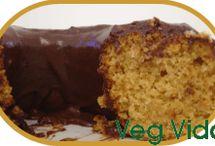 •vegan pie, cake & brownie•