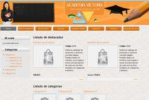 Proyecto Diseño Web / Trabajos realizados en el ámbito del diseño y programación web de la empresa.
