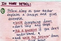 Studying Tips! / Get more effective on studying to get a better grades!