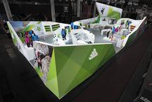 Adidas booth design