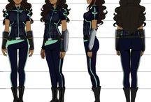 Character design turnarounds