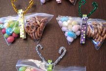 Home made gift candy bags