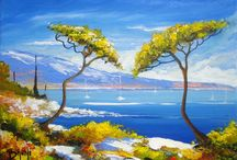 Peintures paysages