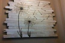 Palette de bois, idées / Des trucs et meubles à faire avec des palettes de bois