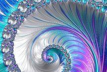 Digital shells/pearls/iridescents