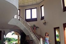 """VILLA CASTELLAMONTE DEL MAR / Villa Castellamonte del Mar is one of the most fabulous five-Star luxury vacation estates in the Caribbean. Located on the northern coast of the Dominican Republic, known as """"Costa Verde,"""" this estate is magically perched on the edge of a gorgeous coastline, towering above the ocean. Escape with friends and family to your own """"private resort"""" at Villa Castellamonte! http://www.exoticestates.com/villa-castellamonte-del-mar"""