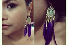 Pretty little things on my ears / My own earrings collection