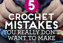 crochet mistakes