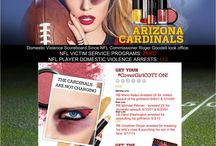#CoverGirlCOTT #NFLGameFace #TruthSponsor / #CoverGirlCOTT #NFLGameFace Board illustrates the TRUTH about the NFL, Commission Roger Goodell and their incompetent approach to the issue of Domestic Violence in the league.  We call on NFL Beauty Sponsor CoverGirl to demand #GoodellMustGo