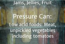 Canning the Harvest / Learn how to can and pressure can to preserve the harvest!