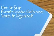 Conferences and report cards / by Tony D'Antonio