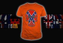 Skull Flag / Flag mount in Skull for T-shirt CLICK TO FIND MORE www.sunfrog.com/Elvan3000/Skull-Flag_Tshirt