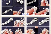 Sormukset: pearl ring tutorial