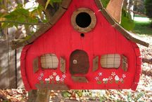 Vogelhuisjes cute