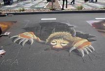 Pavement Art for School
