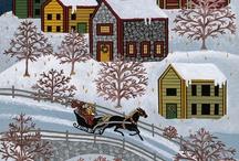 Naive Art Winter