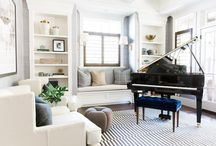 Piano/study room