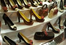 Well heeled in Chocolate / What better way to celebrate the artistry of chocolate than with beautiful chocolate heels?
