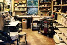 Potter studio