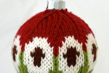Christmas Ornaments - Knit