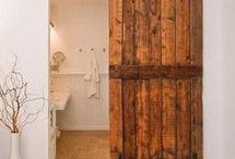 Doors: barn/front