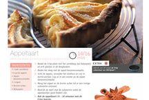 Recepten crispplaat / Verzameling van recepten die we in de  oven met crispfunctie kunnen maken.