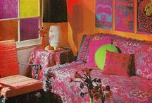 Decor Inspiration / This is a board for psychedelic, 60's, boho, styles and themes in decor.