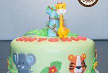 Torta Fattoria  - Torta Granja / torta compleanno 1 anno - torta cumple 1  - birthday cake 1 year