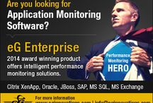 eG Enterprise / eG Enterprise is a 100% web-based application performance management for next generation IT infrastructures. Its universal monitor allows administrators to monitor every layer of every tier of the infrastructure