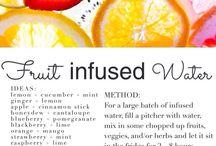 Infused water  / Detox