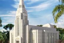 Templos SUD / ♡ Eu gosto de ver o Templo, ali eu entrarei ♡