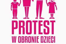 Protest w Obronie Dzieci / http://cpoid.pl/index.php/pl/protest-w-obronie-dzieci