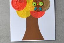kreatív ősz gyerek