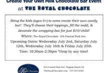 Sweet Events / We have so many exciting events going on at The Royal Chocolate!  Come join us!