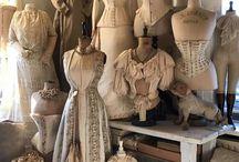 mannequins anciens
