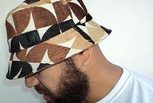 "HEADWEAR / Latest n LIMITED EDITION - ""ZAYA"" bucket hat  3 toned colour bucket hat"