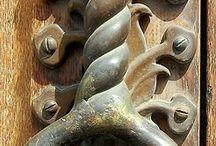 Kapı Tokmakları Door knocker