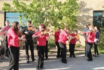 Bow Valley Fiddlers / This highly skilled group of amateur musicians, ranging from 7 to 18 years of age, has entertained hundreds of people in and around the Calgary area.