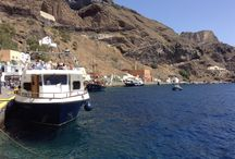Santorini / Such a beautiful place to go.